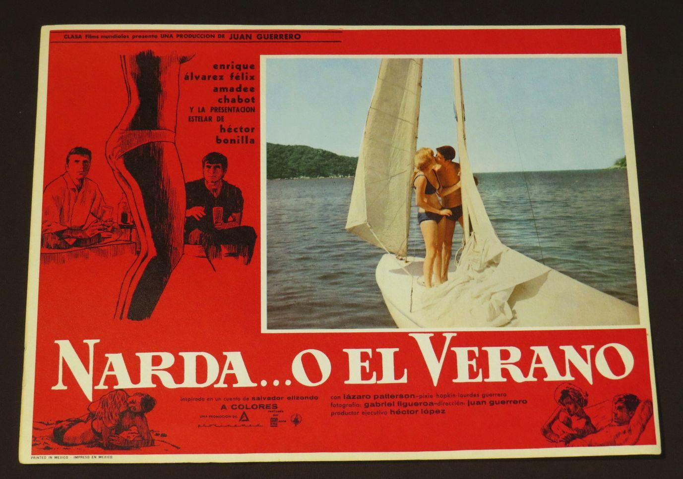 Amadee Chabot cartel de cine: narda. o el verano
