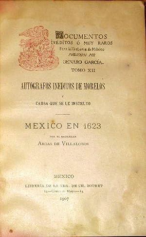 Documentos Ineditos o Muy Raros Para La: Garcia, Genaro