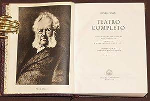 Teatro Completo: Ibsen, Henrik