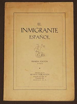 El Inmigrante Español: Revista Población