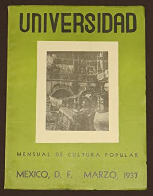 Universidad. Mensual De Cultura Popular. Tomo III.: Heliodoro Valle, Rafael