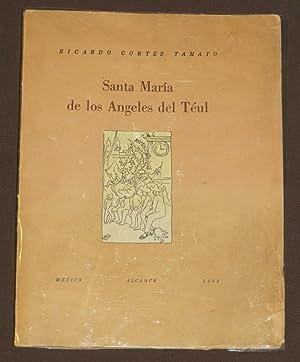 Santa María De Los Ángeles Del Téul: Cortes Tamayo, Ricardo
