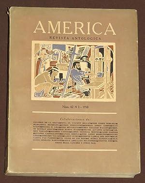 America. Revista Antológica. Num. 62, Enero De: Rulfo, Juan /