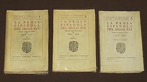 La Prosa Española Del Siglo XIX. Tomos: Aub, Max
