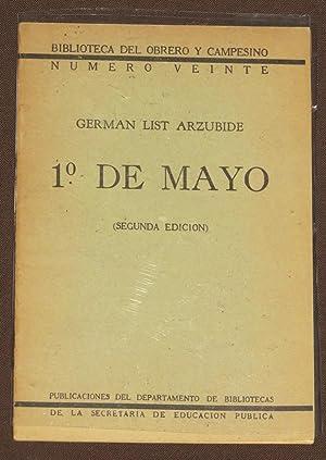 1o De Mayo: List Arzubide, German