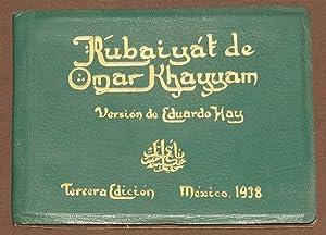 Rubaiyat de Omar Khayyam. Versión De Eduardo: Khayyam, Omar