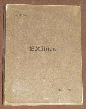 Breves Apuntes De Botánica: Martinez, Maximino