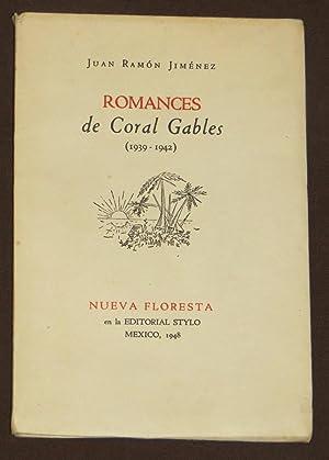Romances De Coral Gables ( 1939 -: Jimenez, Juan Ramon
