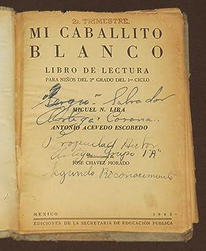 Mi Caballito Blanco Libro De Lectura Para: Miguel N Lira