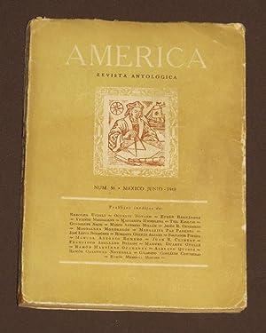 América. Revista Antológica. Núm. 56 Junio 1948: Novaro, Octavio /