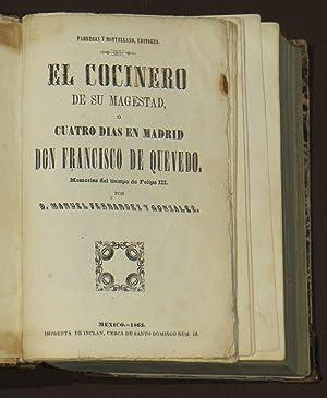 El Cocinero De Su Magestad, O Cuatro: Fernandez y Gonzalez,