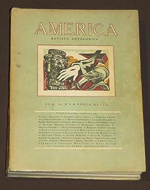 América. Revista Antológica. Núm. 60: Pellicer, Carlos /