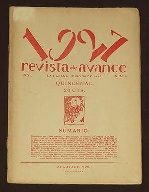 Revista de Avance. 1927. Quincenal. Número 8.: Mañach, Jorge; Portal,