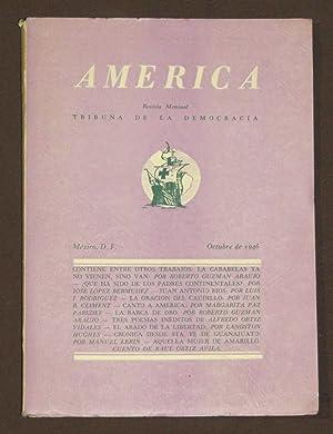 América. Revista Mensual. Tribuna De La Democracia.: Climent, Juan B./