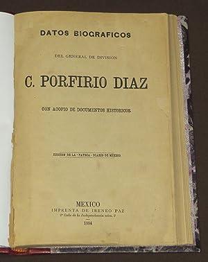 Datos Biográficos Del General De División, C.: Paz, Ireneo