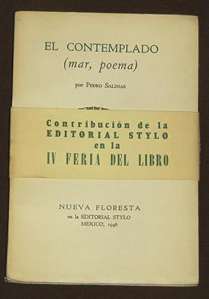 El Contemplado ( Mar, Poema ): Salinas, Pedro