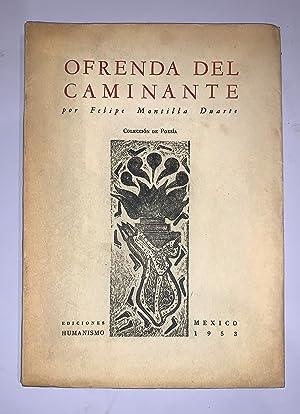 OFRENDA DEL CAMINANTE: Montilla Duarte, Felipe
