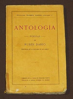 Antologia. Poesías De Rubén Darío Precedida De: Darío, Rubén