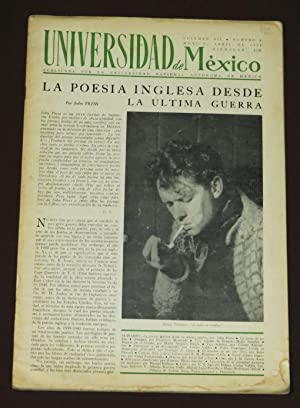 Universidad de México. Volumen XII. Número 8. Abril de 1958.
