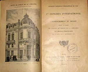 1er Congres International De L'enseignement Du Dessin Tenu a Paris En L'Hotel Du Cercle ...
