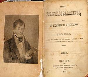 El Periquillo Sarniento, Tomos 1,2,3,4: Fernandez De Lizardi, José Joaquín (El Pensador Mexicano)