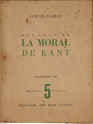Mas Alla De La Moral De Kant. Ensayo: Ramos, Samuel