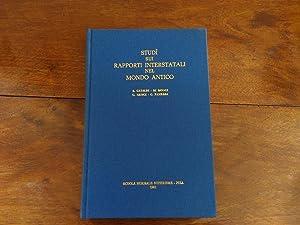 Studi sui rapporti interstatali nel mondo antico: AA.VV.