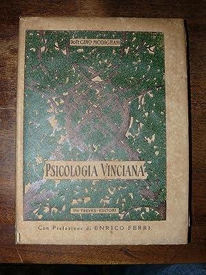 Psicologia Vinciana. Prefazione di Enrico Ferri: Modigliani, Gino.