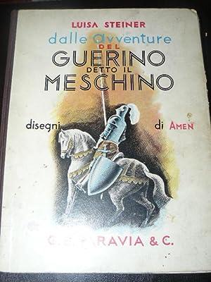 Dalle avventure del Guerino detto il Meschino. Disegni di Amen ( Antonio Menegazzo): STEINER Luisa