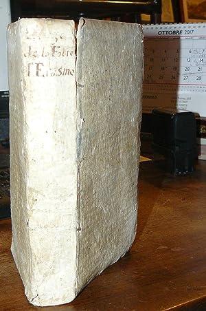 L'eloge de la folie, traduit du latin: Erasmus, Desiderius