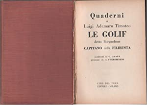 Quaderni di Luigi Ademaro Timoteo Le Golif: G. Alaux