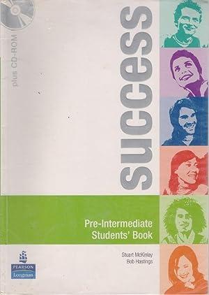 Success Pre -Intermediate Students' Book - Pearson: Stuart McKinlay, Bob