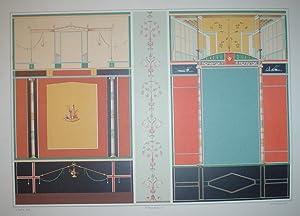 Le case ed i monumenti di Pompei.: NICCOLINI Fausto and Felice.