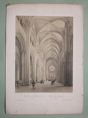Aisle of Durham. Nef de la Cathédrale: ARNOUT Jules.