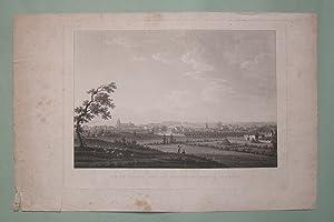 Vue de Bayonne prise aux environs du Chateau de Marrac.: PIRINGER.