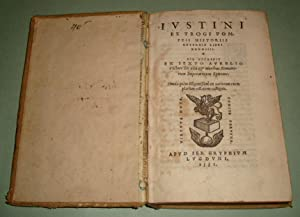 Iustini ex Trogi Pompeii historiis externis libri: JUSTINUS