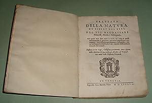 Trattato della natura de'cibi et del bere.: PISANELLI Baldassare.