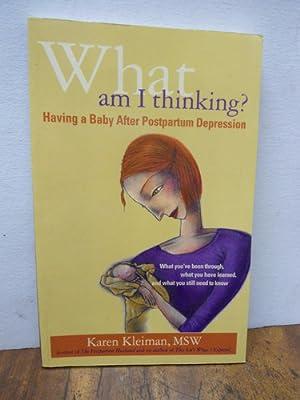 que estoy pensando depresion post parto en: Karen Kleiman