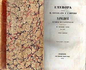 L'Europa durante il Consolato e l'Impero di: Capefigue Jean Baptiste