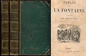 Fables de La Fontaine illustrees par GRANDVILLE: La Fontaine