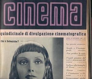 CINEMA QUINDICINALE DI DIVULGAZIONE CINEMATOGRAFICA