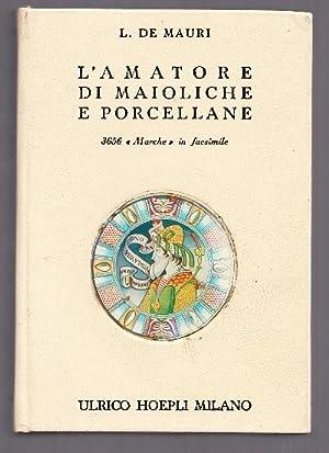 L'amatore di maioliche e porcellane. Notizie storiche: De Mauri, L.