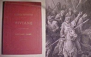 Viviane, poeme traduit de l'anglais par Francisque: TENNYSON Alfred