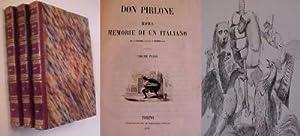 Don Pirlone a Roma Memorie di un Italiano dal 1° Settembre 1848 al 31 Dicembre 1850: Pinto ...