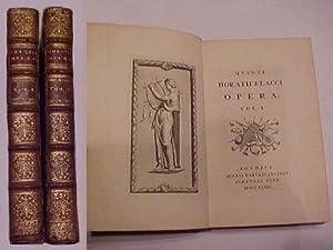 Quinti Horatii Flacci Opera: Orazio