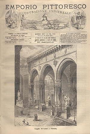 L'EMPORIO PITTORESCO. Illustrazione Universale ANNO XV