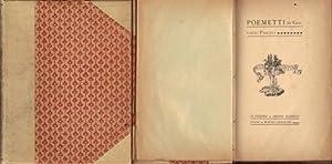 Poemetti: Pascoli Giovanni