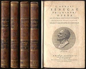L. Annaei Senecae Philosophi Opera, ad optimas: Seneca