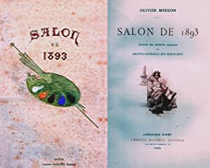 SALON DE 1893 Societè des Artistes Francais: Merson Olivier