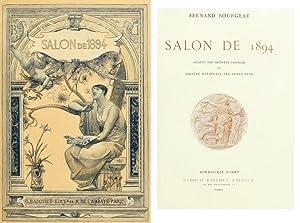 SALON DE 1894 Societè des Artistes Francais: Bourgeat Fernand
